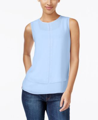 MICHAEL Michael Kors Sleeveless Beaded Top