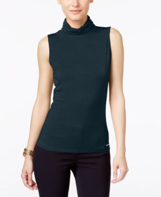 MICHAEL Michael Kors Sleeveless Turtleneck Top