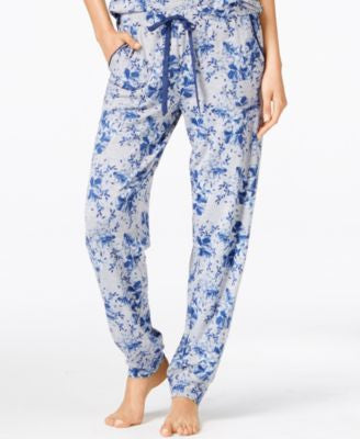 Alfani Floral-Print Pajama Pants, Only at Vogily