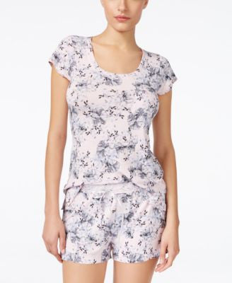 Alfani Floral-Print Pajama Top, Only at Vogily