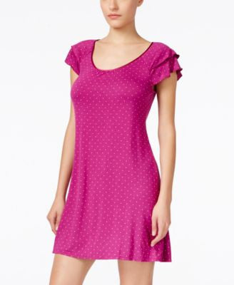 Alfani Flutter-Sleeve Nightgown, Only at Vogily