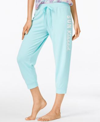 Jenni by Jennifer Moore Cropped Jogger Pajama Pants, Only at Vogily