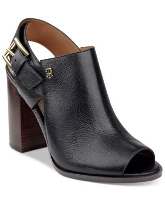 Tommy Hilfiger Peppy Peep-Toe Shooties