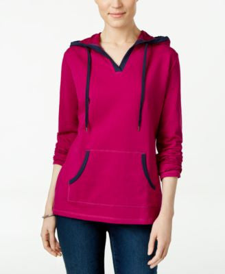 Karen Scott Pullover Hoodie, Only at Vogily