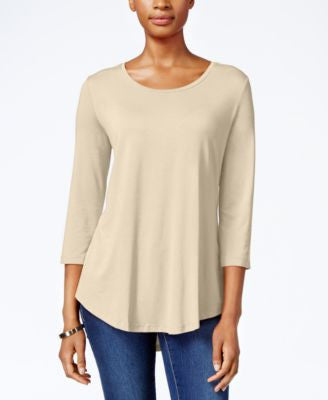JM Collection Scoop-Neck Top, Only at Vogily