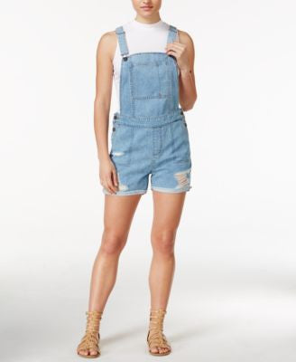 DL 1961 Cara Ripped Overalls, Campfire Wash