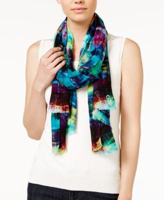 Calvin Klein Painted Stroke Scarf