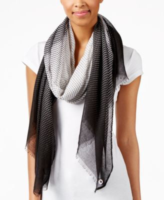 Calvin Klein Faded Dot Scarf