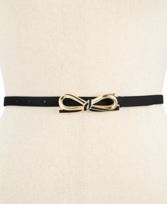 kate spade new york Mini Bow Skinny Belt