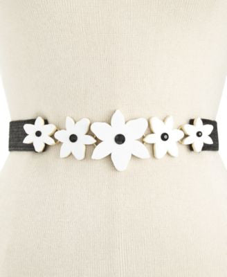 kate spade new york Lilly Stretch Straw Belt