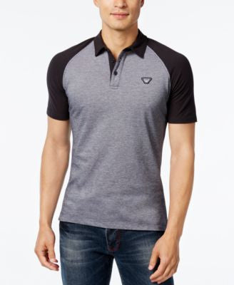 Armani Jeans Men's Slim Fit Colorblocked Polo