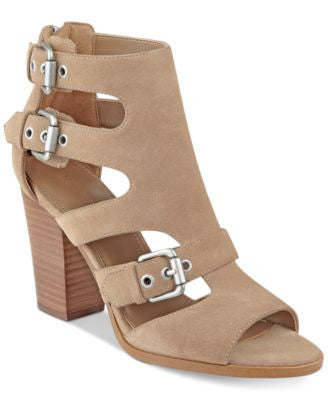 Marc Fisher Calinda Block-Heel Sandals