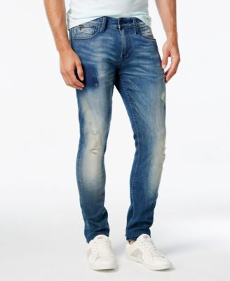 GUESS Men's Tapered Jeans