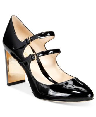 Nine West Academy Mary Jane Block-Heel Pumps