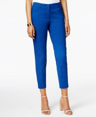 Anne Klein Straight-Leg Ankle Pants