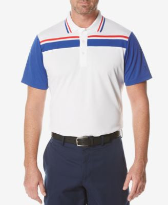 PGA TOUR Men's Colorblocked Polo Shirt