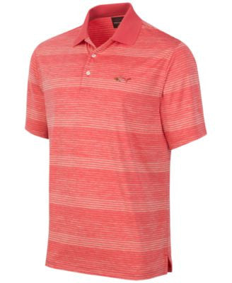 Greg Norman for Tasso Elba Men's Performance Heathered Striped Polo