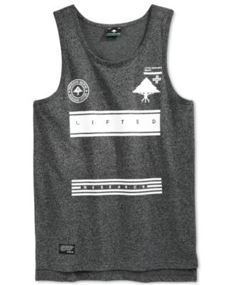LRG Men's RC Bars Graphic-Print Tank
