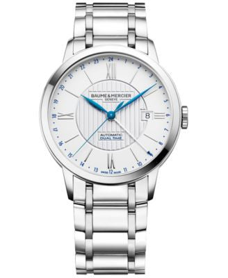 Baume & Mercier Men's Swiss Automatic Classima Stainless Steel Bracelet Watch 40mm M0A10273
