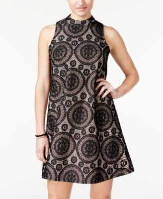 American Rag Sleeveless Lace Shift Dress, Only at Vogily