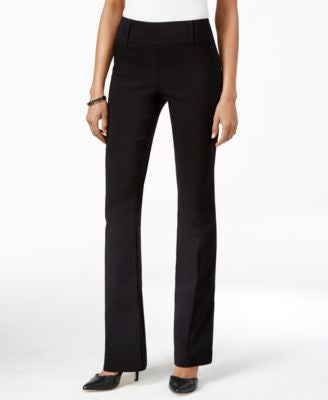 Style & Co. Pull-On Boot-Leg Pants, Only at Vogily