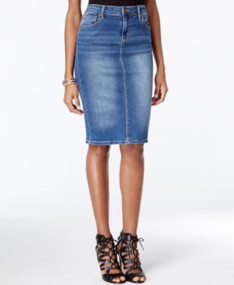 Calvin Klein Jeans Denim Pencil Skirt