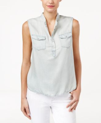 Calvin Klein Jeans Sleeveless Denim Top