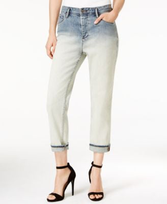 Armani Exchange Dip-Dyed Boyfriend Jeans