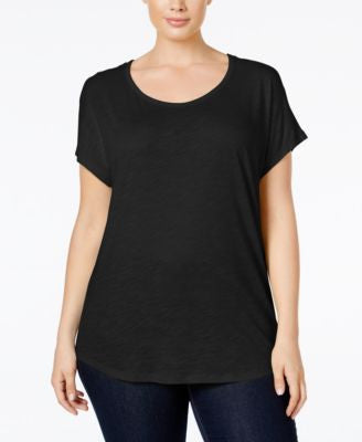 MICHAEL Michael Kors Plus Size Weekend Burnout T-Shirt