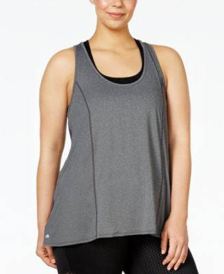 Ideology Plus Size Racerback Swing Tank Top, Only at Vogily