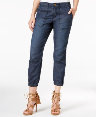 Sanctuary Peace Trooper Mariko Wash Cropped Jeans