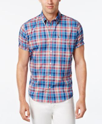 Barbour Men's Fred Plaid Short-Sleeve Shirt
