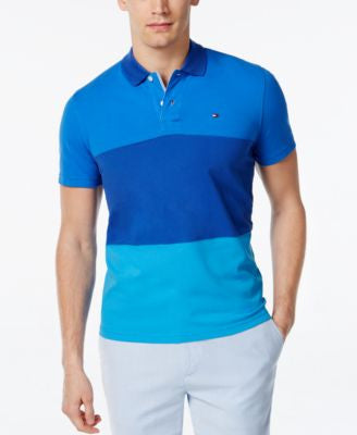 Tommy Hilfiger Men's Custom Fit Brody Colorblocked Polo