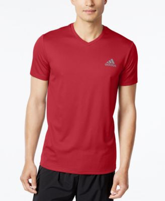 adidas Men's V-Neck ClimaLite T-Shirt