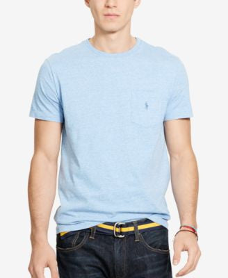 Polo Ralph Lauren Men's T-Shirt, Core Standard Fit Polo Pocket Tee Shirt