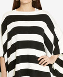 Lauren Ralph Lauren Striped Poncho