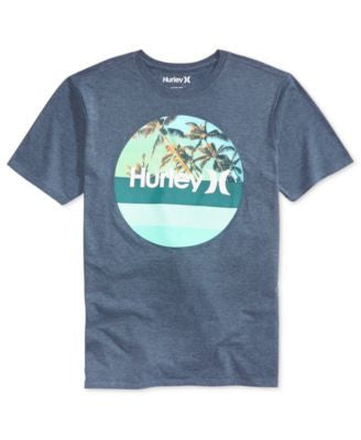 Hurley Men's Fade Premium Graphic-Print T-Shirt