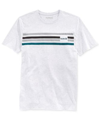 Hurley Men's Block Premium Stripe T-Shirt