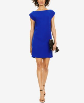 Polo Ralph Lauren Cap-Sleeve Shift Dress