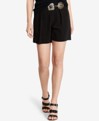 Polo Ralph Lauren Pleated High-Rise Shorts