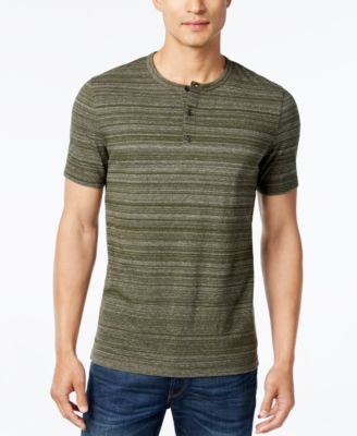 Michael Kors Men's Space-Dyed Henley