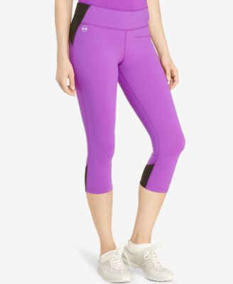Lauren Ralph Lauren Colorblocked Cropped Leggings