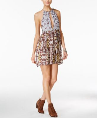 Free People Wildest Dreams Printed Shift Dress