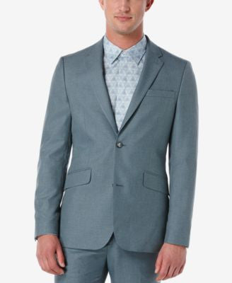 Perry Ellis Men's Slim-Fit Twill Jacket