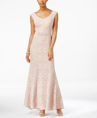 Alex Evenings Lace Mermaid Gown