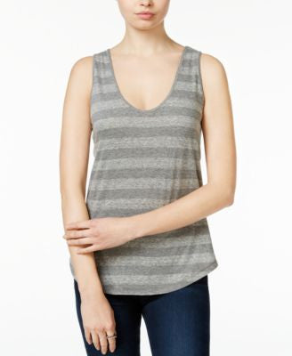 RACHEL Rachel Roy Striped Essential Tank Top