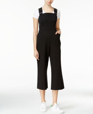 RACHEL Rachel Roy Hardware-Detail Cropped Jumpsuit
