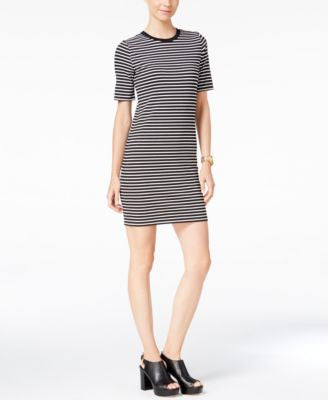 MICHAEL Michael Kors Striped T-Shirt Dress