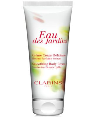 Clarins Eau des Jardins Smoothing Body Cream, 6.9 oz