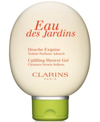 Clarins Eau des Jardins Uplifting Shower Gel, 5 oz